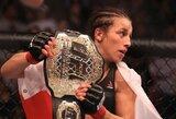 """J.Jedrzejczyk paaiškino, kodėl jai nepavyko išgelbėti pagrindinės """"UFC 213"""" kovos"""