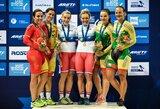 S.Krupeckaitė ir M.Marozaitė iškovojo Europos dviračių treko čempionato bronzą!