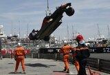 Drama Monako GP kvalifikacijoje – sensacinga D.Ricciardo pergalė, L.Hamiltono gedimas ir praėjusių lenktynių herojaus avarija