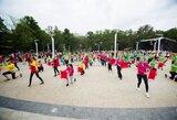 """""""Sportas visiems"""" festivalyje bus paminėtas Baltijos kelio jubiliejus ir siekiama Gineso rekordo"""