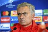 """""""Manchester United"""" prieš """"Benfica"""" versis be penkių pagrindinių žaidėjų"""