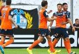 """""""Marseille"""" klubas toliau lieka be pergalių, """"Saint-Etienne"""" kyla į pirmą vietą"""