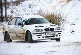 """""""Halls Winter Rally"""" varžybose – R.Šeinausko ir R.Krikščiūnaitės kova su fizikos dėsniais"""