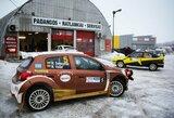 """""""Halls Winter Rally"""" techninė komisija: automobiliai parengti lenktynėms"""