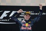 Sensacija: Ispanijos GP lenktynes laimėjo S.Vettelio rekordą pagerinęs 18-metis olandas