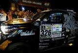 Visi trys Lietuvos ekipažai sėkmingai startavo Dakaro ralyje