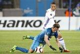 """""""Zenit"""" charakteris nublanko prieš vienintelį belgų klubo įvartį"""