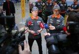 Dakaro vilkas A.Juknevičius išlydėtas į sunkiausias pasaulio lenktynes