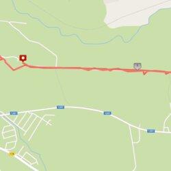 5,11 km trasa Keblonyse