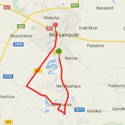 20.7 km trasa Marijampolėje