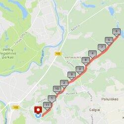 Pylimėlių trasa Vilniuje