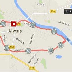 9.91 km. trasa Alytuje