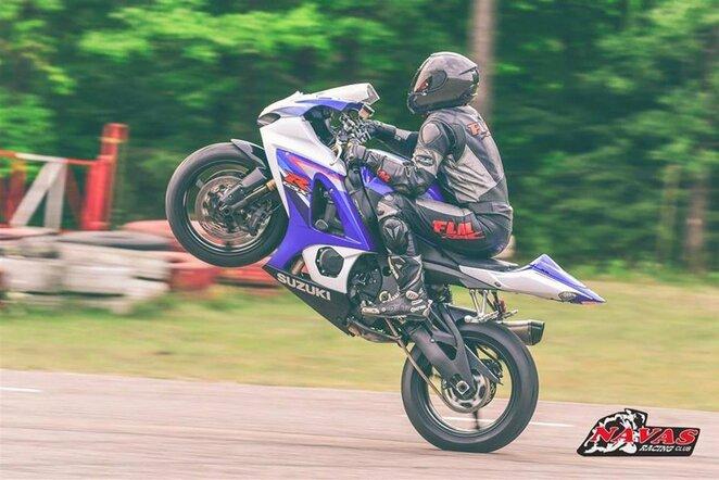 Lietuvos ir Latvijos plento žiedo motociklų čempionato etapas   Organizatorių nuotr.