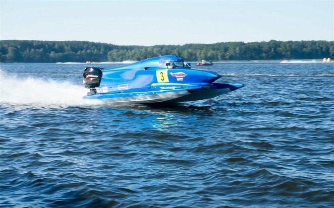 Vandens formulių F2 pasaulio čempionato etapas Zarasuose | Organizatorių nuotr.