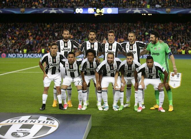 """""""Juventus"""" komanda   Scanpix nuotr."""