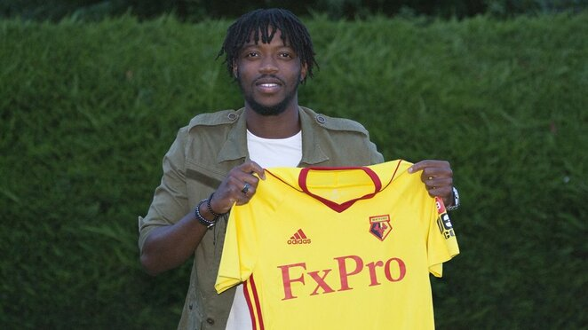 """Nathanielis Chalobah   """"Twitter"""" nuotr."""