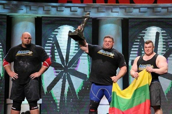 """""""Arnold Strongman Classic 2016"""" prizininkai   Organizatorių nuotr."""