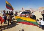 A.Juknevičiaus finišas Dakare...