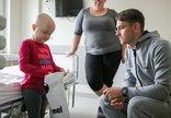 Mažiesiems pacientams – futbolo...