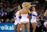 """""""Žalgirio"""" šokėjos rungtynėse su..."""