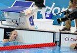 R.Meilutytės plaukimas Londono...