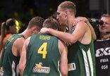 Europos 3x3 krepšinio čempionatas:...