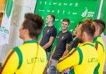 Lietuvos sportininkai palydėti į...
