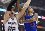 """""""Clippers"""" – """"Spurs"""" rungtynių..."""