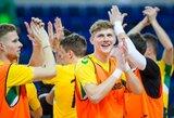 Lietuvos futsalo rinktinė sužinojo varžovę Europos čempionato atrankoje