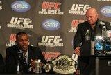 """UFC prezidentas apie organizacijos čempioną J.Jonesą: """"Nejaučiu jam neapykantos"""""""