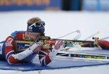Norvegijos rinktinė laimėjo pasaulio biatlono taurės estafetę, lietuviai nestartavo
