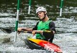 Pasaulio jaunių ir jaunimo baidarių ir kanojų slalomo čempionate lietuviai pasirodė kukliai