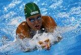 Netikėta: R.Meilutytė nepasirodė Lietuvos plaukimo čempionato finale