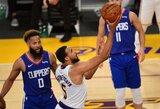 """""""Lakers"""" dar kartą laimėjo Los Andželo derbį"""