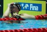 Džiaugsmo ašaros: 14-metė italė finale sensacingai aplenkė J.Jefimovą ir tapo pasaulio vicečempione