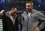 Vitalijus Kličko atskleidė sumą, kuri priverstų jo brolį galvoti apie sugrįžimą į ringą