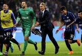 """R.Mancini: """"Mes privalome kovoti dėl """"Scudetto"""""""