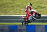 """A.Iannone padovanojo """"Ducati"""" pirmą pergalę šių metų """"MotoGP"""" sezone"""