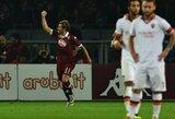 """Tobulas """"Roma"""" sezono startas nutrūko Turine"""