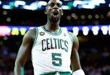 NBA neleis K.Garnettui persikelti į Los Andželą