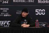 """""""UFC 244"""" algos: J.Masvidalis ir N.Diazas uždirbo vienodai, trečias pagal algą – per 29 sek. nokautuotas baltarusis"""