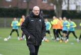 Lietuvos futbolo rinktinė - pasirengusi sunkiam darbui