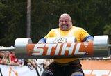 Baltijos galiūnų čempionate – dar viena V.Blekaičio pergalė