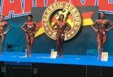 """""""Arnold Classic Europe"""" varžybose – du A.Čepurnienės sidabro medaliai"""