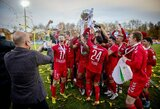Po intriguojančios baudinių serijos Hegelmann LFF taurė keliauja į Panevėžį!