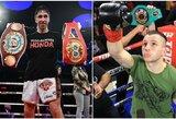 """""""Box rec"""": E.Kavaliauskas ir M.Zewski kovos dėl dviejų čempiono diržų"""