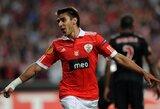 """E.Salvio grįžta į """"Benfica"""" komandos gretas"""