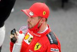 """M.Verstappenas niršo ant """"Red Bull"""" strategų, S.Vettelis nesusikalbėjo su """"Ferrari"""""""