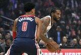 """K.Leonardo ir P.George'o duetas padėjo """"Clippers"""" surinkti 150 taškų"""