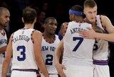 """NBA klubai išgyvena aukso amžių: """"Knicks"""" – vėl vertingiausia komanda"""